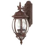 (3 Light) Wall Lantern - Old Bronze / Clear Beveled Glass - Nuvo Lighting 60-892