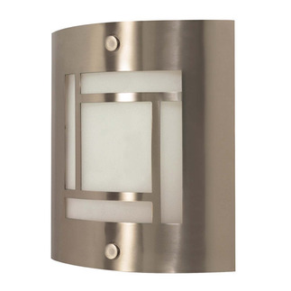 (1 CFL) Wall Fixture - Brushed Nickel / Frosted Glass - Energy Star Qualified - Nuvo Lighting 60-948