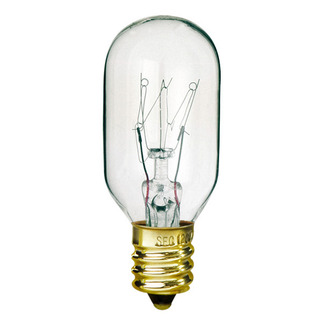 15 Watt - T7 - 130 Volt - Candelabra Base - Tubular Light Bulb - Satco S3905 Picture Light