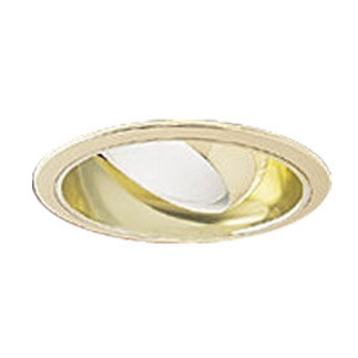 6 in. - White Reflector Trim with Recessed Eyeball - Premium Quality Brand PTS49W - Light Fixture Accessory