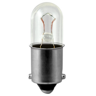 957 Miniature Indicator Lamp - 9.84 Volts - T 4-1/2 Miniature Bayonet Base - EIKO 957