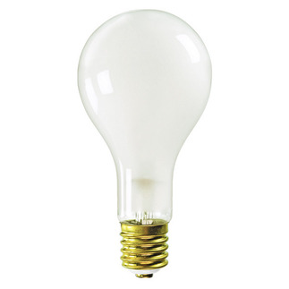 300 Watt - Frosted - PS35 - Mogul Base - 130 Volt - 300PS35/FR/MOG/130V Standard Light Bulb