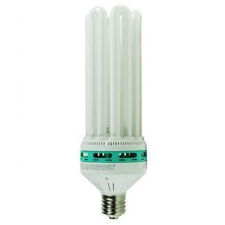 150 Watt - 6U CFL - 500 W Equal - 5000K Full Spectrum - Min. Start Temp. 0 Deg. F - 80 CRI - 53 Lumens per Watt - 15 Month Warranty - Energy Miser FE-IIIB-150W-50K Screw In CFL