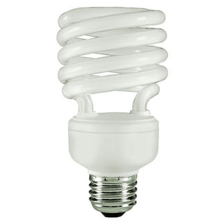 23 Watt - T2 CFL - 100 W Equal - 5000K Full Spectrum - 80 CRI - 70 Lumens per Watt - 15 Month Warranty - Energy Miser FE-IISB-23W/50K
