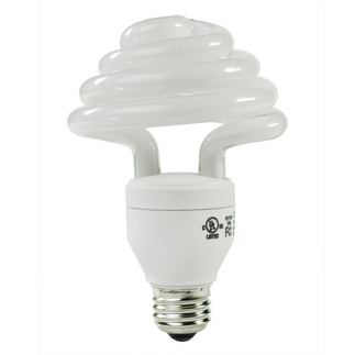 30 Watt - CFL - 125 W Equal - 5000K Full Spectrum - Min. Start Temp. 0 Deg. F - 80 CRI - 67 Lumens per Watt - 15 Month Warranty - Energy Miser FE-US-30W-50K Screw In CFL