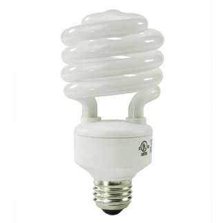 30 Watt - CFL - 120 W Equal - 4100K Cool White - Min. Start Temp. 0 Deg. F - 80 CRI - 67 Lumens per Watt - 15 Month Warranty - Energy Miser FE-IIS-30W-41K Screw In CFL