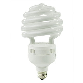 55 Watt - CFL - 250 W Equal - 5000K Full Spectrum - Min. Start Temp. 0 Deg. F - 80 CRI - 65 Lumens per Watt - 15 Month Warranty - Energy Miser FE-US-55W-50K Screw In CFL