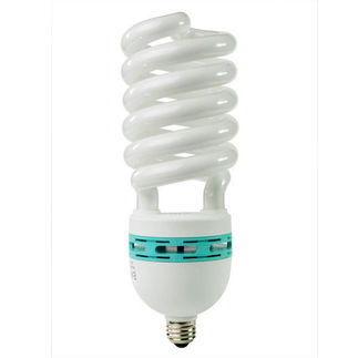 65 Watt - CFL - 275 W Equal - 5000K Full Spectrum - Min. Start Temp. 0 Deg. F - 80 CRI - 62 Lumens per Watt - 15 Month Warranty - Energy Miser FE-IIIS-65W-50K screw in cfl