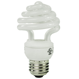 12 Watt - CFL - 60 W Equal - 5000K Full Spectrum - Min. Start Temp. 0 Deg. F - 80 CRI - 68 Lumens per Watt - 15 Month Warranty - Energy Miser FE-US-12W-50K