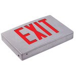 LED - Die Cast Aluminum Exit Sign - 120/277 Volt Only (No Battery) - Exitronix 400U-LB-BA