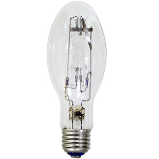 100 Watt - Mercury Vapor - 4000 Lumens - 5700K - Medium Base - ANSI H38 - H100/MED - EYE 69623 E17 Mercury Vapor