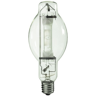 1000 Watt - BT37 - Metal Halide - Reduced Envelope - Unprotected Arc Tube - 4200K - ANSI M47/E - Universal Burn - M1000BX/U/BT37 - EYE  50102 BT37 Metal Halide