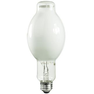 1000 Watt - BT37 - Metal Halide - Reduced Envelope - Unprotected Arc Tube - 3800K -  White Coated - ANSI M47/E - Universal Burn - M1000BX/U/BT37 - EYE 50445 BT37  Metal Halide