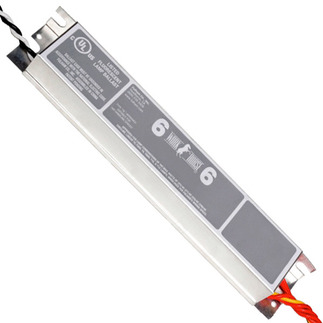 Fulham Workhorse 6 WH6-277-L - 277 Volt - Instant Start - Ballast Factor 0.87 - Power Factor 90% - Min. Temp. Rating -20 Deg. F - Operates (1 or 2) F14T8 Fluorescent Lamps