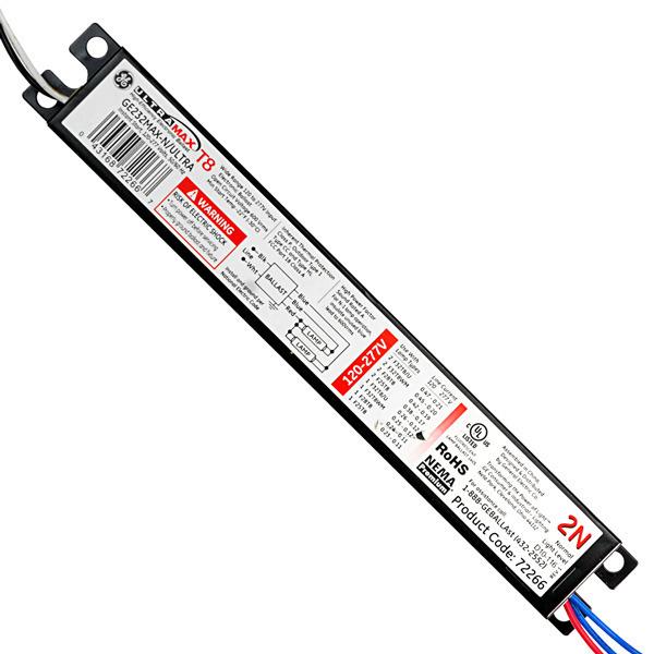 ge 72266 - t8 fluorescent ballast  277 volt