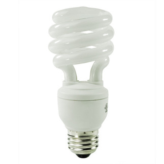 15 Watt - CFL - 60 W Equal - 4100K Cool White - Min. Start Temp. 5 Deg. F - 82 CRI - 63 Lumens per Watt - 15 Month Warranty - GE Lighting 25183