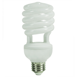 26 Watt - CFL - 100 W Equal - 2700K Warm White - Min. Start Temp. 5 Deg. F - 82 CRI - 65 Lumens per Watt - 15 Month Warranty - GE Lighting 15836 Screw In CFL