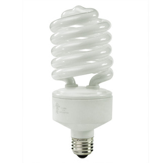 42 Watt - CFL - 150 W Equal - 2700K Warm White - Min. Start Temp. 5 Deg. F - 82 CRI - 64 Lumens per Watt - 15 Month Warranty - GE Lighting 80891 screw in CFL