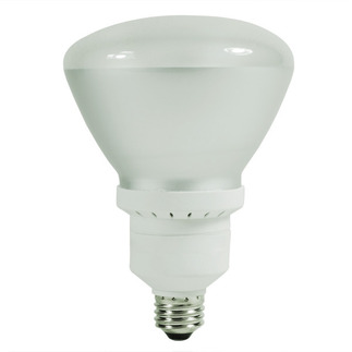 26 Watt - R40 CFL - 90 W Equal - 2700K Warm White - Min. Start Temp. 5 Deg. F - 82 CRI - 50 Lumens per Watt - 15 Month Warranty - GE Lighting 80894