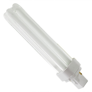 GE 35251 - F26DBXT4/SPX35 - NAED 20680 - 26 Watt - 2 Pin G24d-3 Base - 3500K  - CFL Light Bulb Plug-in CFL