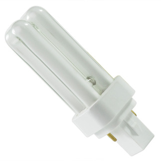 GE 42065 - F9DBX23T4/841 - 9 Watt - 2 Pin G23-2 Base - 4100K - CFL Light BulbPlug In CFL