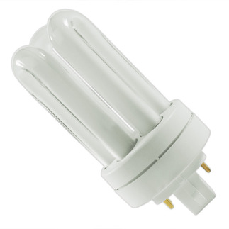 GE 34387 - F13TBX/SPX41/A/4 - NAED 20894 - 13 Watt - 4 Pin GX24q-1 Base - 4100K - CFL Light Bulb - Plug-in