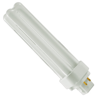 GE 97599 - F18DBX/830/ECO4P - NAED 20724 - 18 Watt - 4 Pin G24q-2 Base - 3000K - CFL Light Bulb
