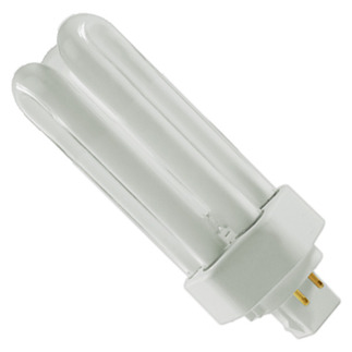 GE 97615 - F26TBX/830/A/ECO - NAED 20880 - 26 Watt - 4 Pin GX24q-3 Base - 3000K - CFL Light Bulb