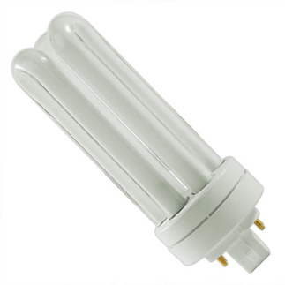 Plug in CFL GE 97632 - F32TBX/841/A/ECO - NAED 20886 - 32 Watt - 4 Pin GX24q-3 Base - 4100K  - CFL Light Bulb