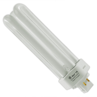 GE 46312 - F42TBX/827/A/4P/EOL - NAED 20887 - 42 Watt - 4 Pin GX24q-4 Base - 2700K - CFL Light Bulb Plug In CFL
