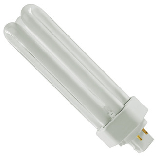 GE 46314 - F42TBX/835/A/4P/ECO - NAED 20871 - 42 Watt - 4 Pin GX24q-4 Base - 3500K - CFL Light Bulb Plug In CFL