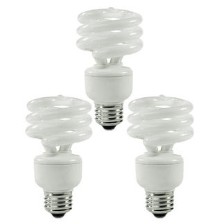 (3 Pack) TCP 8010143 - 14 Watt - 60 W Equal - 2700K Warm White - Min. Start Temp. - 20 Deg. - 800 Series Phosphors - CFL