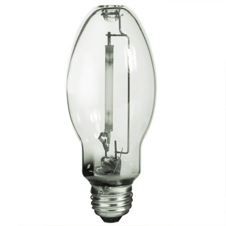 LU100 - HPS - 100 Watt - High Pressure Sodium - Medium Base - ANSI S54 - LU100/MED/ECO - GE 13250 B17 High Pressure Sodium