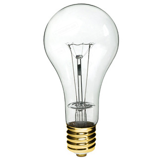 500 Watt - Clear - PS35 - Mogul Base - 130 Volt - 1,000 Life Hours - GE 21532 PS35 Incandescent Light Bulb
