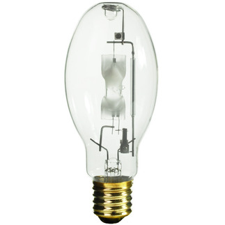 400 Watt - ED28 - Metal Halide - Reduced Envelope - Unprotected Arc Tube - 3600K - ANSI M59/E - Universal Burn - MVR400/U/ED28 - GE 18904 ED28 Metal Halide
