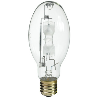 400 Watt - ED37 - Metal Halide - Unprotected Arc Tube - 4000K - ANSI M59/S - Universal Burn - MVR400/U - GE 43828 ED37 Metal Halide