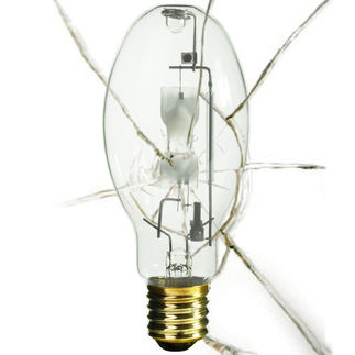 GE 18902 - Shatter Resistant - MH175 - 175 Watt - Metal Halide - Medium Base - ANSI M57 - M175/U/MED