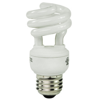 9 Watt - CFL - 40 W Equal - 2700K Warm White - Min. Start Temp. 0 Deg. F - 80 CRI - 58 Lumens per Watt - 15 Month Warranty - Global Consumer Products 059