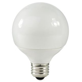 15 Watt - G30 CFL - 60 W Equal - 2700K Warm White - Min. Start Temp. 0 Deg. F - 80 CRI - 55 Lumens per Watt - 15 Month Warranty - Global Consumer Products 131 Globe CFL
