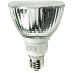 15 Watt - PAR30 CFL - 50 W Equal - 5000K Full Spectrum - Min. Start Temp. 0 Deg. F - 80 CRI - 44 Lumens per Watt - 15 Month Warranty - Global Consumer Products 091