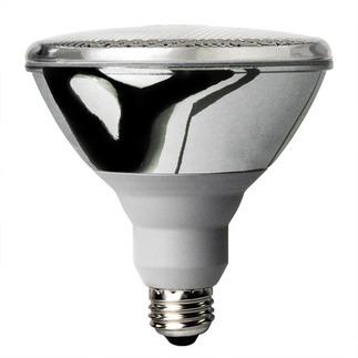 23 Watt - PAR38 CFL - 75 W Equal - 5000K Full Spectrum - Min. Start Temp. 0 Deg. F - 80 CRI - 46 Lumens per Watt - 15 Month Warranty - Global Consumer Products 087 CFL Flood Light