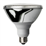 23 Watt - PAR38 CFL - 75 W Equal - 2700K Warm White - Min. Start Temp. 0 Deg. F - 80 CRI - 48 Lumens per Watt - 15 Month Warranty - Global Consumer Products 073 PAR38-CFL