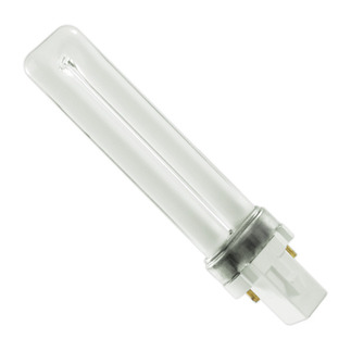 CFT9W/G23/827 - NAED 20329 - 9 Watt - 2 Pin G23 Base - 2700K - CFL Light Bulb Plug In CFL