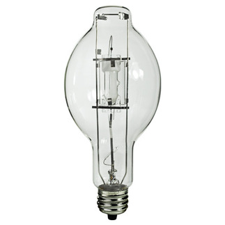 1000 Watt - BT56 - Metal Halide - ANSI M47/O - 4200K - 60 CRI - 12,000 Life Hours - EX39 Mogul Base - Plusrite 1044 BT56 Metal Halide EX39 Mogul Base