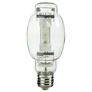 Sylvania 64391 - 320/350 Dual Watt - BT28 - METALARC - Pulse Start - Metal Halide - Unprotected Arc Tube - 4300K - EX39 Mogul Base - ANSI M131/M132/M154 - Base Up Burn - MP320350PSBUONLYBT28