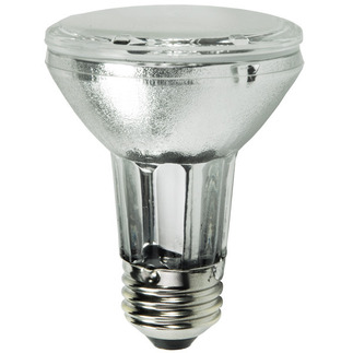 39 Watt - PAR20 Flood - Pulse Start - Metal Halide - 4200K - Medium Base - ANSI M130 - Universal Burn - CMH39PAR20/FL4K - GE 96527