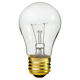 25 Watt - A15 - 130 Volt - 3,000 Life Hours - Medium Base - Appliance and Ceiling Fan Light Bulb - Halco 6016 Ceiling Fan Light Bulb