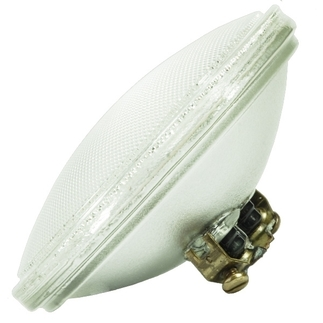 50 Watt - PAR36 - Flood - 30 Degree - 12 Volt - 4,000 Life Hours - Screw Terminal Base - GE 19880 PAR36 Halogen