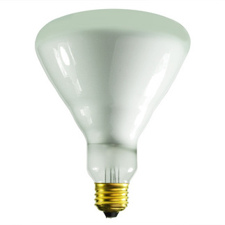 65 Watt - BR40 - Reflector Flood - 130 Volt - 5,000 Life Hours - Medium Base - Incandescent Light Bulb - Halco 404076 R40 Flood Light