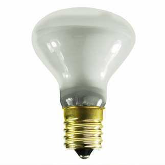 25 Watt - R14 Long Neck - Reflector Flood - 130 Volt - Intermediate Base - Incandescent Light Bulb - Halco 9104 R14 Flood Light